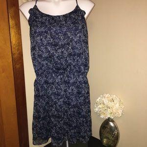 Express racerback floral dress